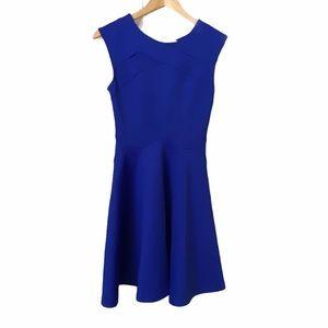 Ted Baker London Royal Blue Fit & Flare Dress